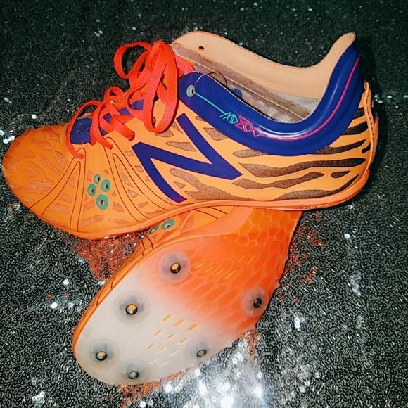 New Balance Shoes   Neon Orange Soccer